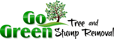 Go Green Tree and Stump Removal Logo